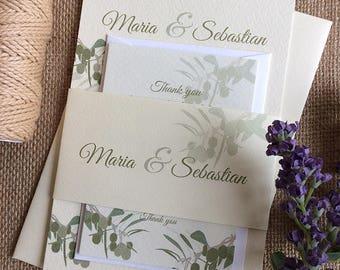 MEDITERRANEAN OLIVES INVITATION Sample Set