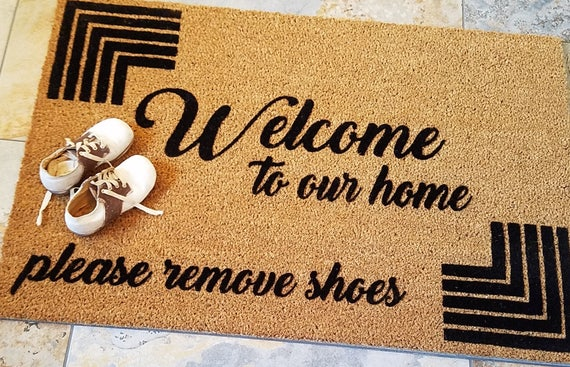 ... No Shoes Doormat, Handmade Doormat, Gifts For Her, Unique Gifts, Gift  Ideas