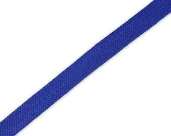 1 m braided Cord Kobaldblau 14 mm