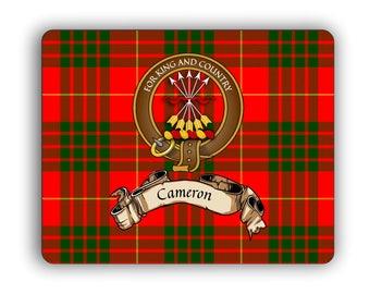 Scottish Clan Cameron Crest Computer Mouse Pad