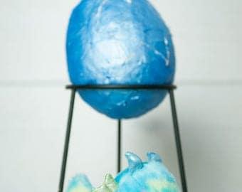 Ready to Go! Small Dragon Egg - Blue dragon