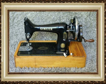 FREE Shipping* | Singer 99K | Antique Sewing Machine | Made in Clydebank | Scotland 1955 | In Working Condition | Antigua Máquina de Coser