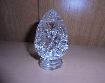 Vintage Crystal/ Glass Egg