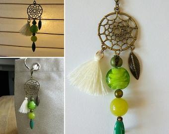 Dream catcher feather tassel beads dream catcher 16406