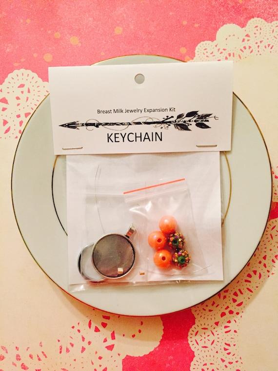 breast milk jewelry expansion kit breast milk keychain diy