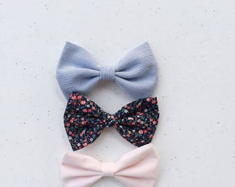 Summer print Bow Set for your little darling.