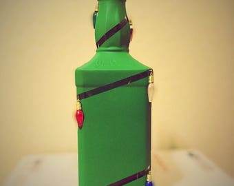Christmas Tree Liquor Bottle