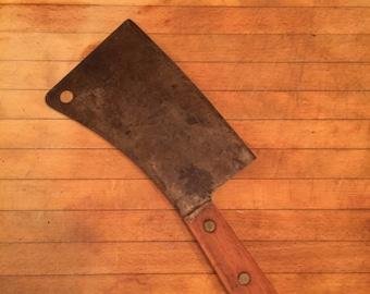 Antique Meat Cleaver
