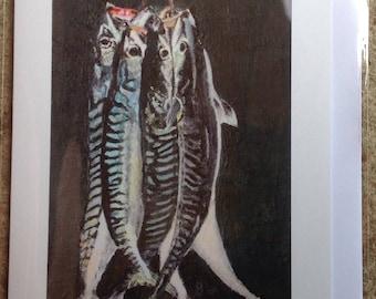 Hanging Mackerel