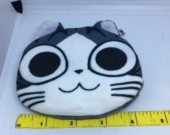 So Kawaii and cute from Chi Cat Book Coin Purse Mini Wallet Money Bag Change Pouch Key Holder Pokemon Charger Cord Holder