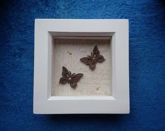 Butterly box frame