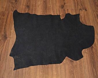 Black lambskin with velvet finish (9279978)