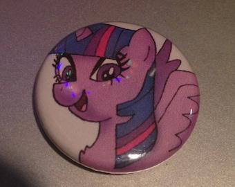 Twilight Sparkle Pin-Back Button