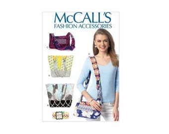 McCall's 7138 - Patchwork Bags