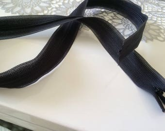 Invisible zipper 64 cm long to sew