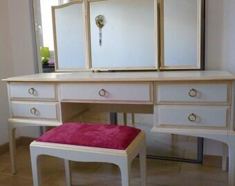 Vintage 80's dressing table furniture