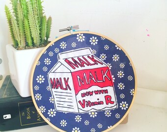 MALK - The Simpsons Floral Embroidery