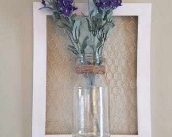 Decorative floral wall decor