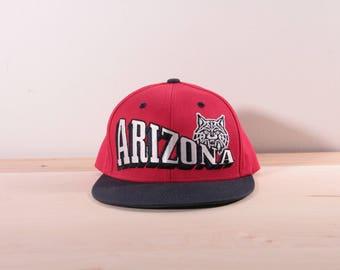 Arizona Wildcats snapback hat