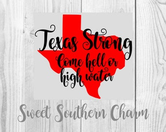 texas strong svg - svg file - svg files - texas files - texas svg - state svg - hurricane svg - hell or highwater - svgs