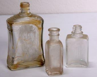 3 Vintage Bottles