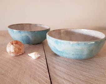Bright bay bowls, Set of two