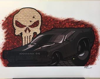 Punisher Challenger - 12x18