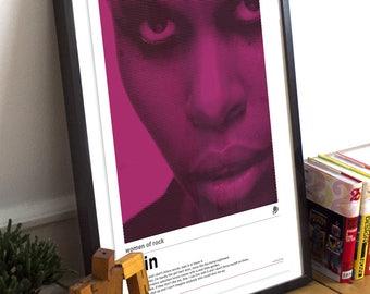 A3 Skin Women of Rock Poster