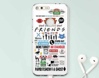 Friends Google Pixel 2 Case Clear Google Pixel XL Case Shows Google XL Pixel Case For Google Pixel Case Google Phone Pixel Case Pixel CC1103