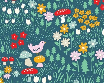 Meadow floral from Everyday Party by Brich Organic 112cm (wide) x 25cm (long)