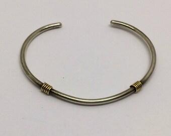 sterling silver 14k gf  bracelet  #213