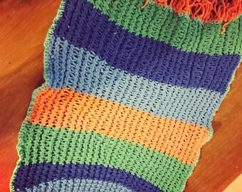 Plush Baby Blanket- Boy