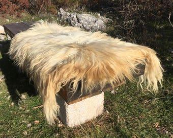 Big genuine Sheepskin Rug from Bosnia / 50