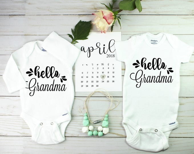 Featured listing image: Unique Twin pregnancy announcement