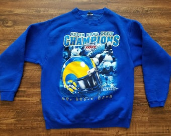 St. Louis Rams Superbowl Sweater