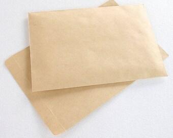 Lot of 5 Kraft envelope/ format a5/16x23cm