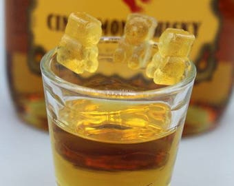 Fireball whiskey gummy bears, 4oz packages