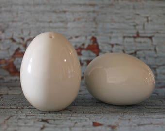 Vintage White Egg Made In Japan