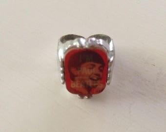 Vintage Beatle Paul McCartney Flasher (Lenticular) Ring 1964