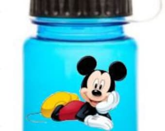 Mickey Mouse Water Bottle, Mickey Mouse Personalized Water Bottle, Mickey Mouse Gift, Mickey Mouse party favors, Mickey Mouse Birthday party