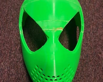 3D Printed Basic SpiderMan Face Mask Assembled Kit