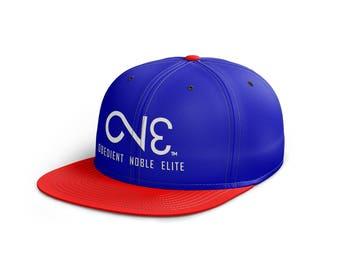 O.N.E. Red Blue Snapback