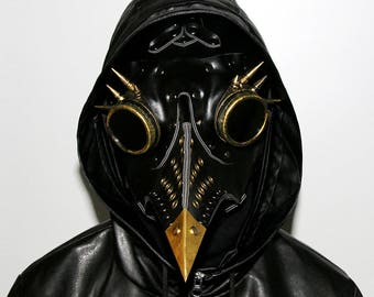 Punk Bird Mask Leather for Cosplay