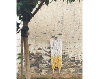 Macrame wall hanging / wall hanging macrame wall / wall hanging