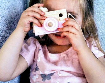 Photo/Style Montessori toy/camera
