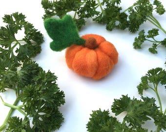 Felted Pumpkin,Wool Pumpkin,Pumpkin Mini,Fake Pumpkin,Gift,Handmade Pumpkin,Decor,Orange Pumpkin,Magical Pumpkin,Winter Decor,Small pumpkin