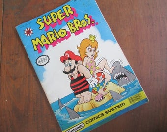 Super Mario Bros Nintendo Comic Systems Comic Book No. 4 1990