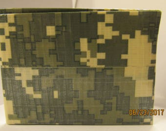 Camouflage Duct Tape Wallet