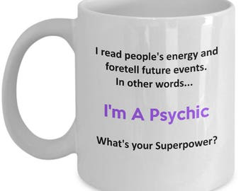 I'm A Psychic - What's Your Superpower?