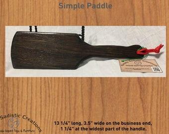 BDSM Simple Spanking Paddle